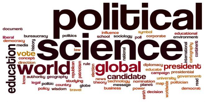 الفرق بين Politics وPolitical Science