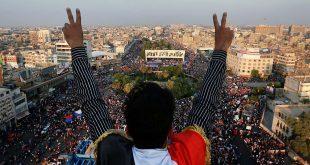 توجهات المتظاهرين العراقيين المشاركين في احتجاجات تشرين الأول (الأسباب، الأساليب، النتائج المتوقعة) iraq protests arabprf arabprf